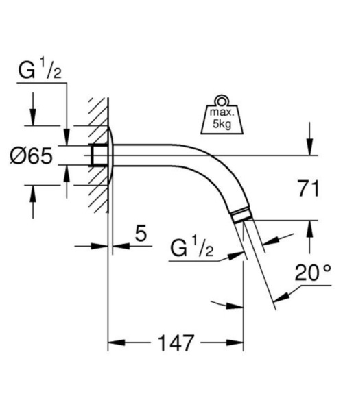 Technical drawing 51708 / 28541000