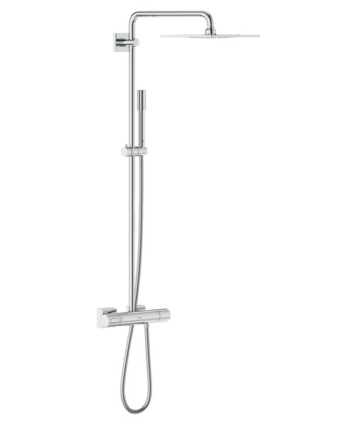 Grohe Rainshower F-Series Shower System With Thermostat For Wall Mounting