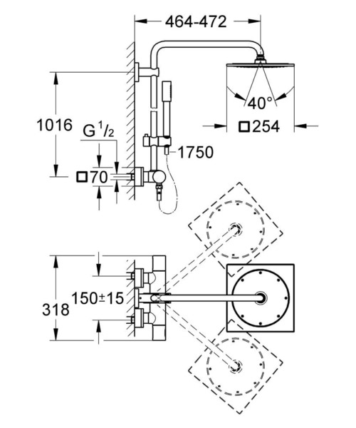 Technical drawing 51590 / 27569000