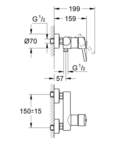 Technical drawing 51719 / 32210001