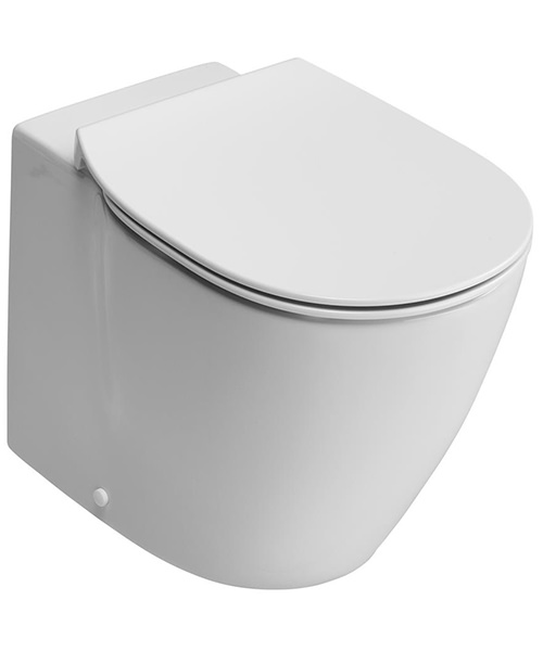 Ideal Standard Concept Aquablade Back-To-Wall WC Pan 550mm