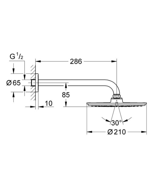 Technical drawing 51714 / 26062000