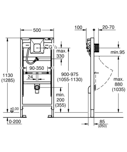 Technical drawing 51803 / 38786001