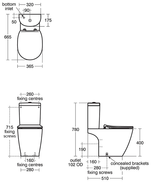 Technical drawing 46966 / E822901