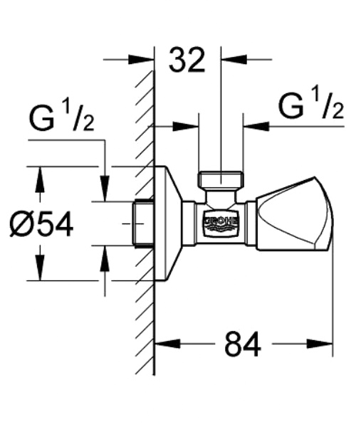 Technical drawing 51843 / 22940000
