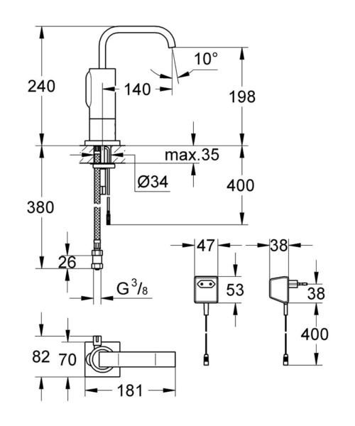 Technical drawing 51740 / 36095000