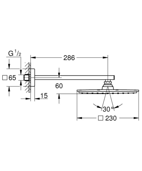Technical drawing 51836 / 26054000