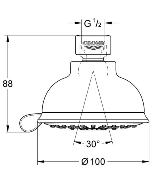 Technical drawing 51834 / 27610000