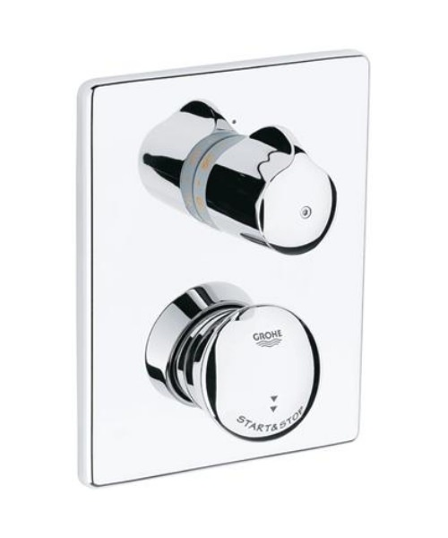 Grohe Eurodisc SE Self Closing Thermostat Concealed Shower Valve