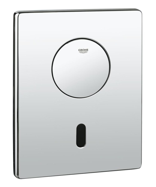 Grohe Tectron Skate Infra-Red Electronic Flush Plate Chrome