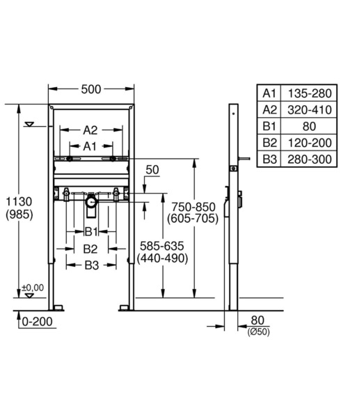 Technical drawing 51845 / 39052000