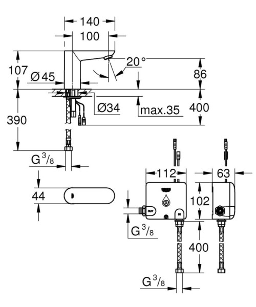Technical drawing 51846 / 36384000