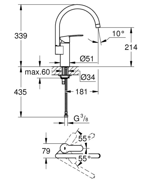 Technical drawing 51880 / 30221002