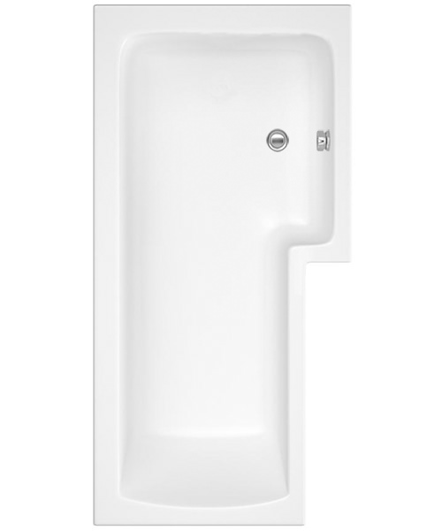 Lauren Square 1700 x 850mm Right Hand Acrylic Shower Bath