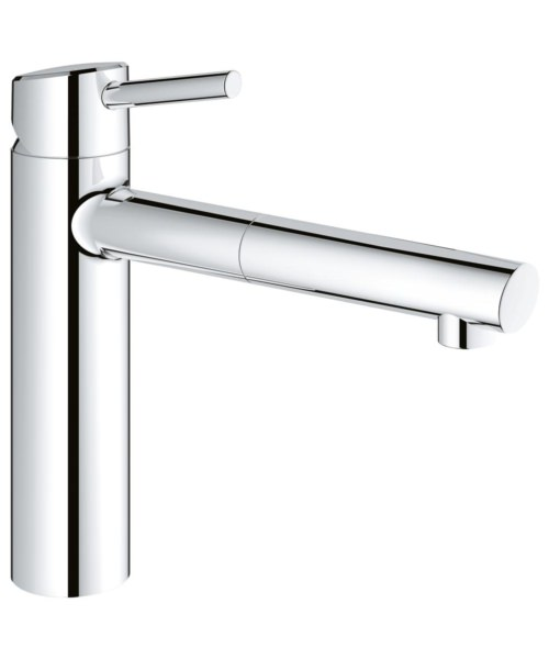 Grohe Concetto Deck Mounted Kitchen Sink Mixer Tap Chrome