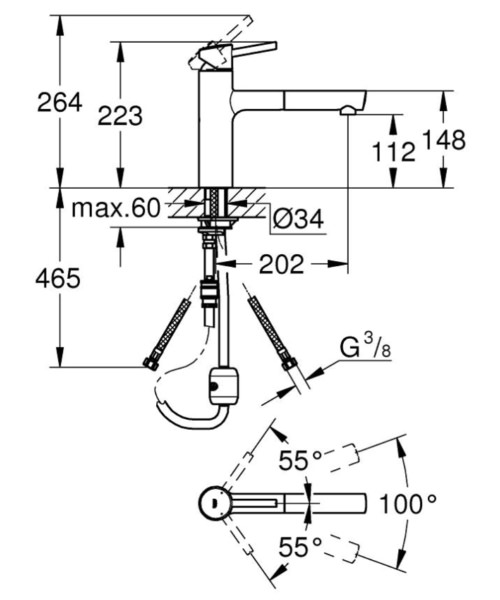 Technical drawing 51870 / 31129DC1