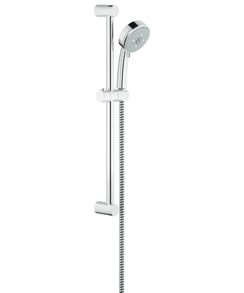 Grohe New Tempesta Cosmopolitan 4 Spray Pattern Shower Rail Set