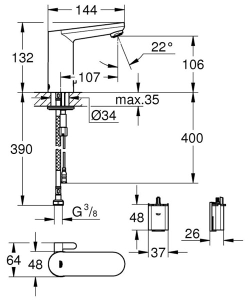 Technical drawing 51900 / 36327001
