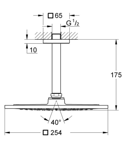 Technical drawing 51901 / 26071000
