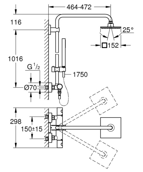 Technical drawing 51904 / 27932000
