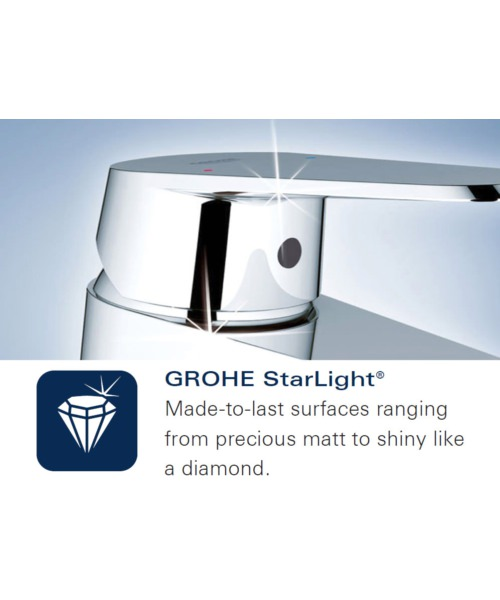 Additional image of Grohe Euphoria 110 Champagne 3 Spray Shower Rail Set