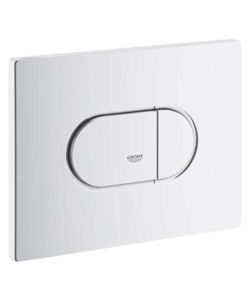 Grohe Arena Cosmopolitan WC Wall Plate Alpine White