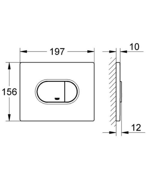 Technical drawing 51892 / 38858SH0