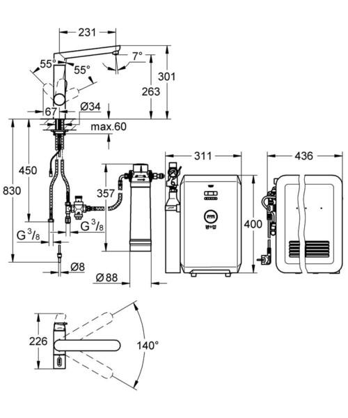 Technical drawing 51919 / 31346001