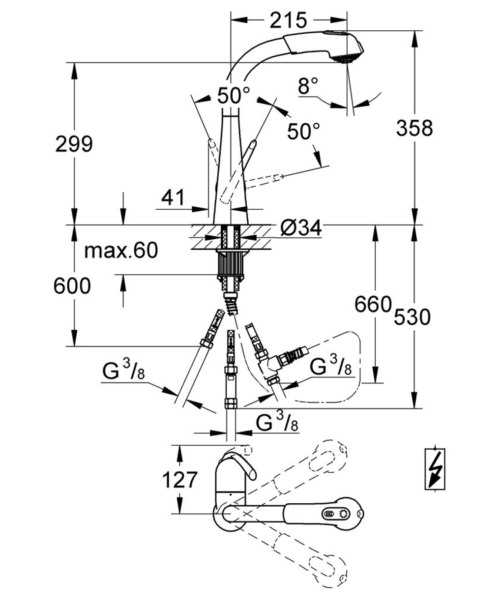 Technical drawing 51926 / 32555000