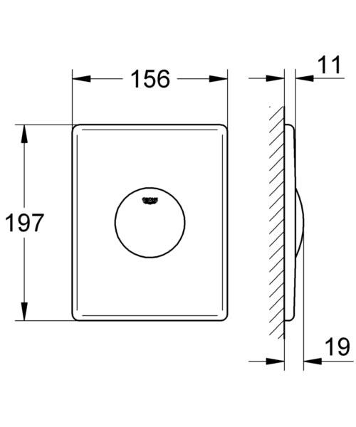 Technical drawing 51786 / 37547SH0