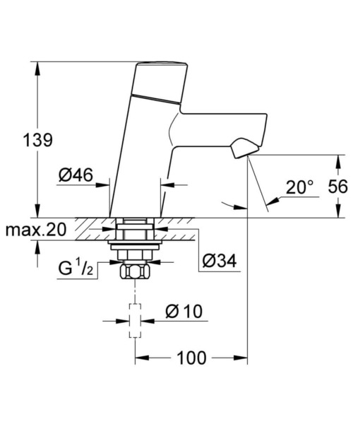 Technical drawing 51924 / 32207001