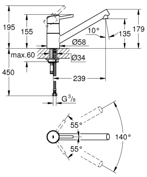 Technical drawing 51927 / 32659DC1