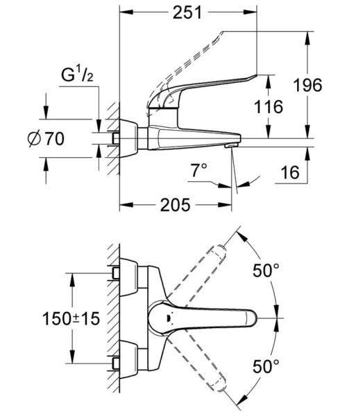 Technical drawing 51929 / 32778000