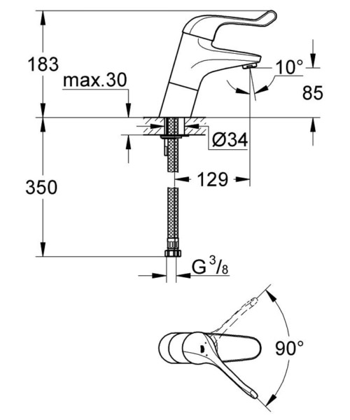 Technical drawing 51931 / 32790000