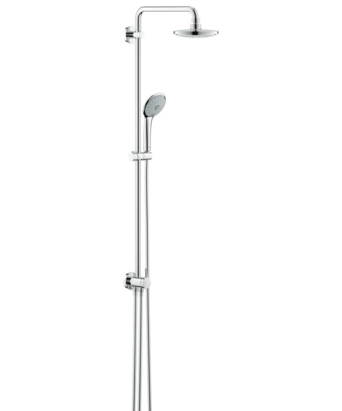 Grohe Euphoria Shower System With Diverter For Wall Mounting