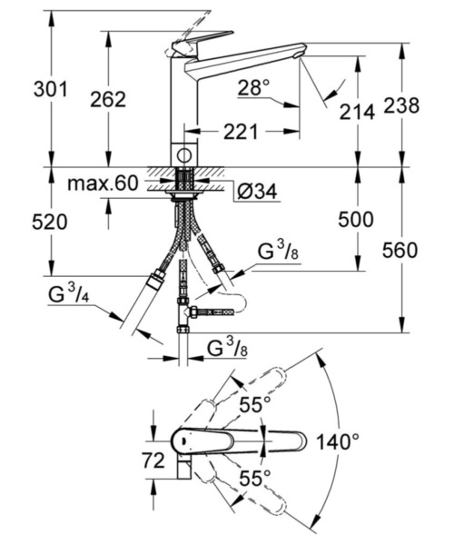 Technical drawing 51918 / 31237002