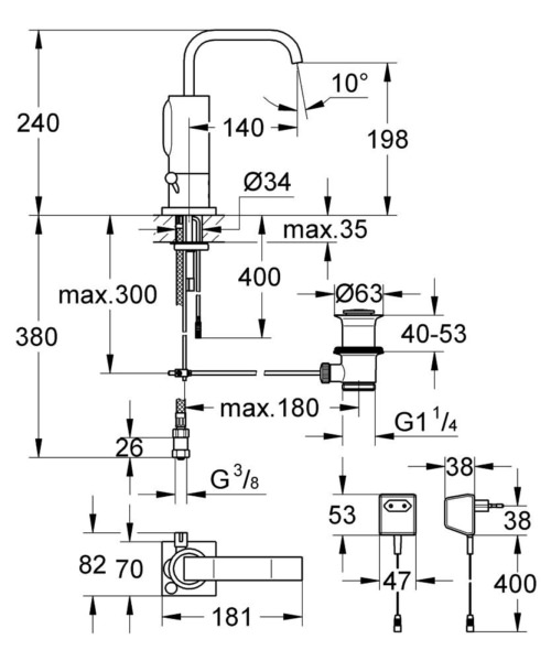 Technical drawing 51947 / 36097000