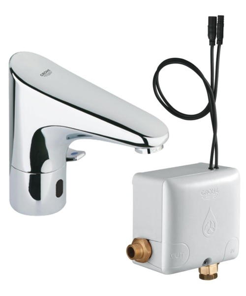 Grohe Europlus E Sensor Tap With Powerbox