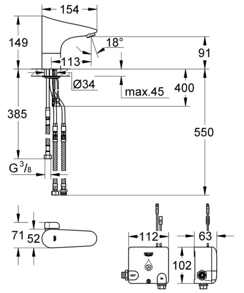 Technical drawing 51953 / 36387000