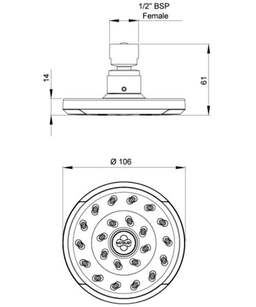 Technical drawing 41309 / SJK005