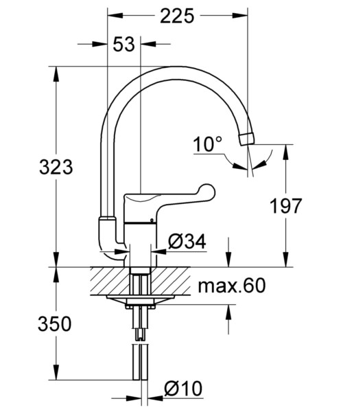 Technical drawing 51939 / 33912000