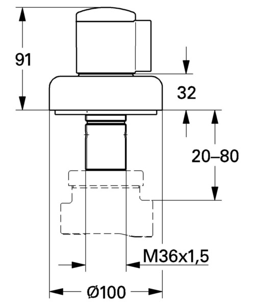Technical drawing 54003 / 19903000