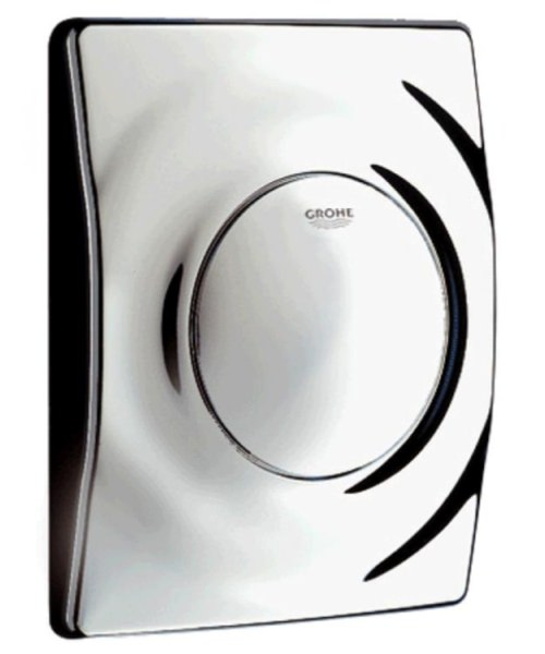 Grohe Surf Actuation Wall Mounted Flush Plate Chrome