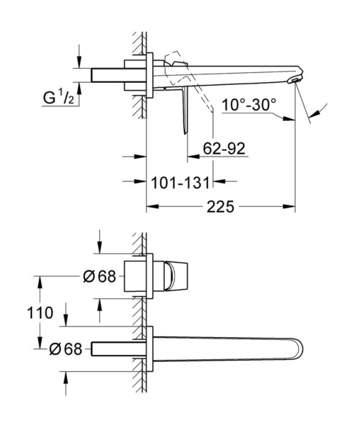 Technical drawing 54036 / 19974002