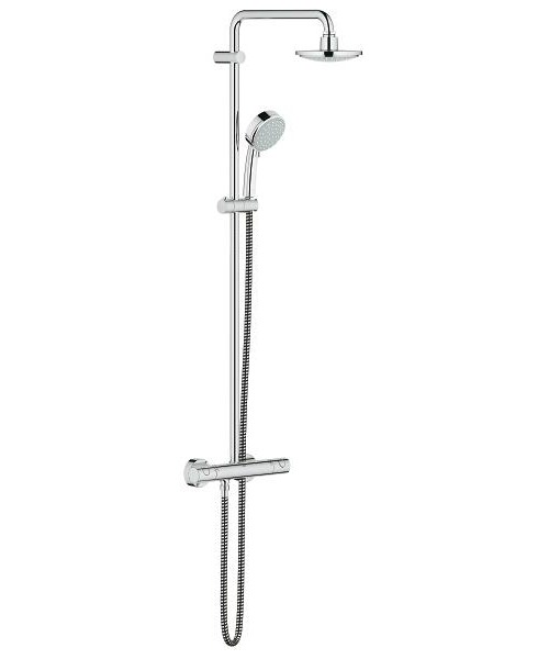 Grohe New Tempesta Cosmopolitan 160 With Thermostat For Wall Mounting