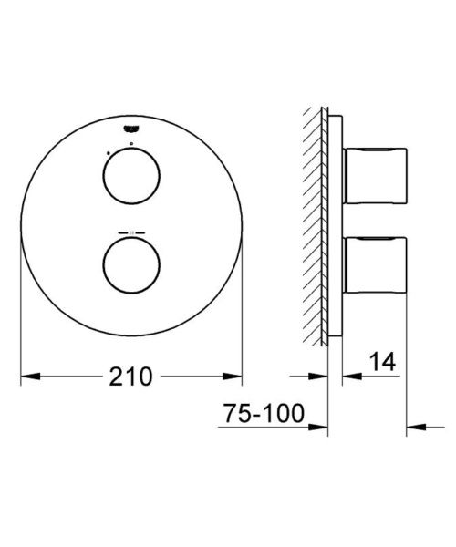 Technical drawing 50599 / 19467LS0