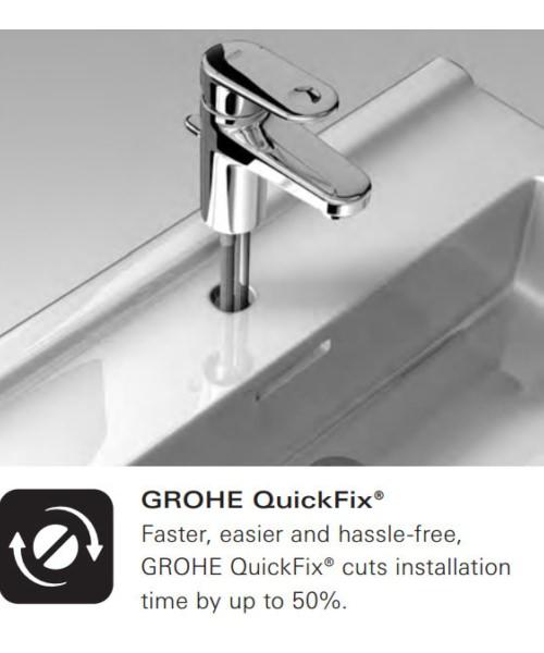 Alternate image of Grohe Grandera Stick 1 Spray Shower Rail Set