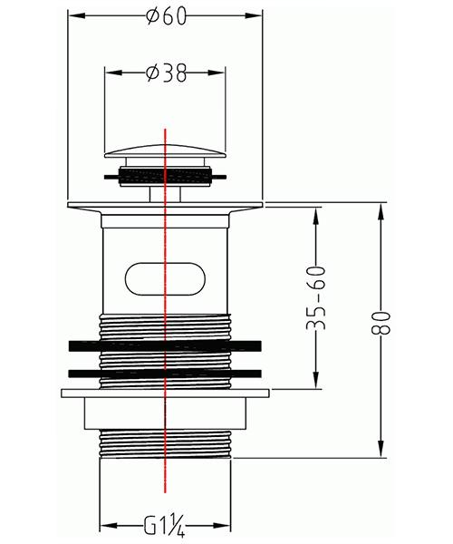 Technical drawing 19937 / CB102