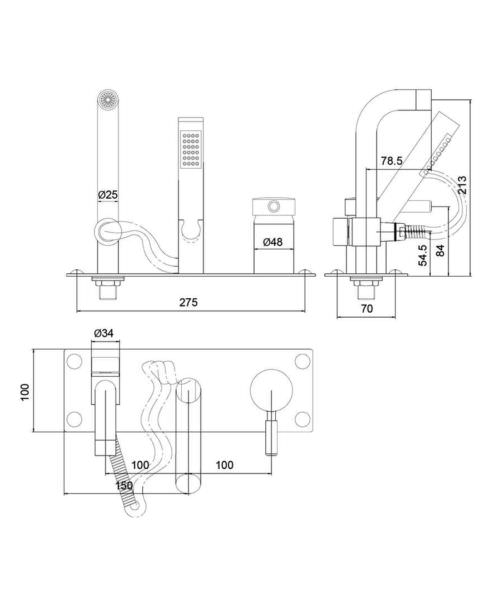 Technical drawing 53526 / PK350
