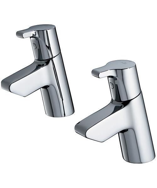 Ideal Standard Active Pair Of Basin Pillar Taps